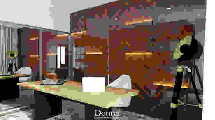Escritório Escritórios modernos por Donna - Exclusividade e Design Moderno