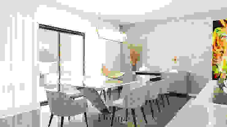 Sala de Jantar Salas de jantar modernas por Donna - Exclusividade e Design Moderno