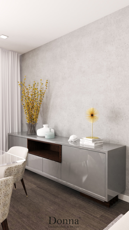 Aparador - Sala Salas de jantar modernas por Donna - Exclusividade e Design Moderno MDF