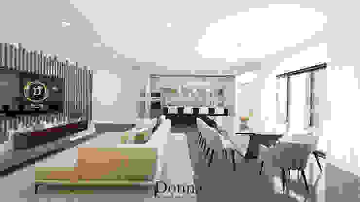 Sala + Cozinha Cozinhas modernas por Donna - Exclusividade e Design Moderno