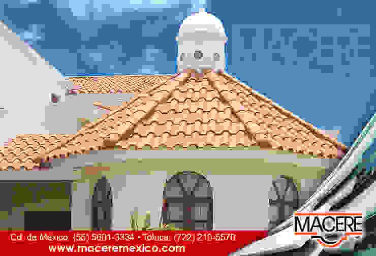MACERE México Lean-to roof Ceramic Orange