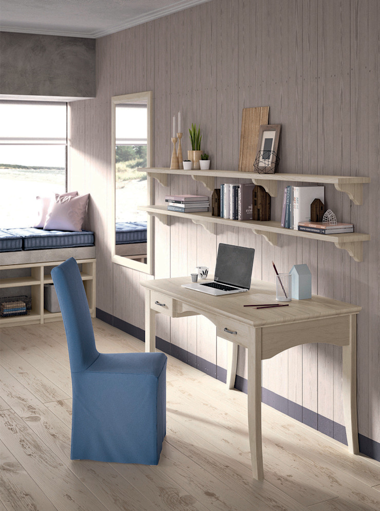 by Mobili a Colori Country Solid Wood Multicolored