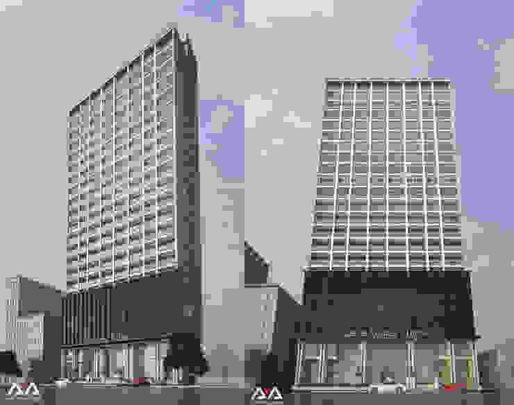 Thiết kế khách sạn 4 sao bởi AVA Architects