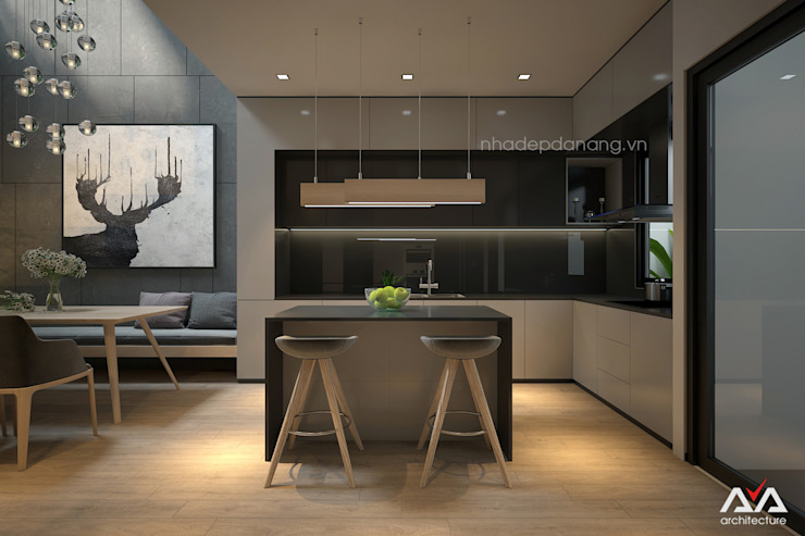 Thiết kế - thi công nhà đẹp Đà Nẵng bởi AVA Architects