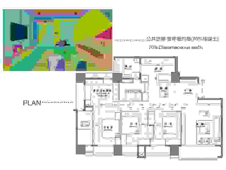 慢活,蕭邸(Hygge,H)-幾何與線條勾勒紅塵靜謐 現代房屋設計點子、靈感 & 圖片 根據 TL Interiors 現代風