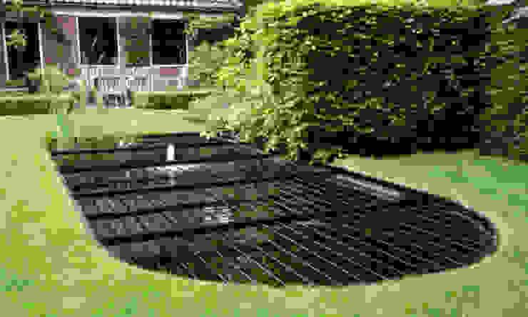 BXO vijverroosters Rustic style garden