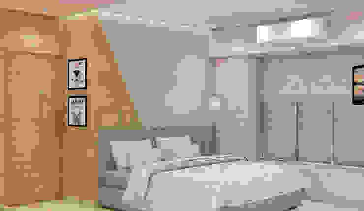 Midas Dezign Dormitorios de estilo moderno Rosa