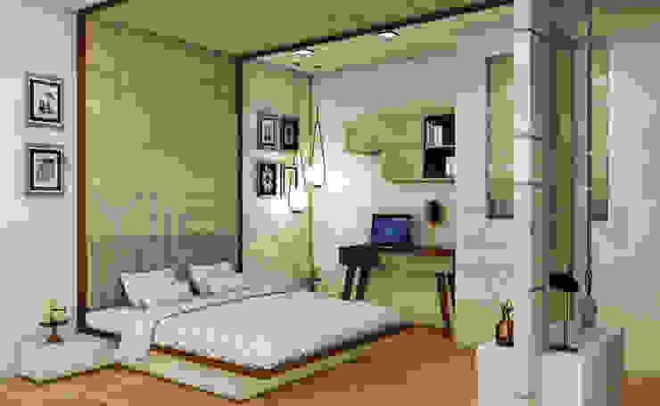 Midas Dezign Dormitorios de estilo moderno