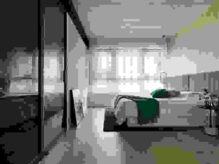 Moderne Schlafzimmer von 肯星室內設計 Modern