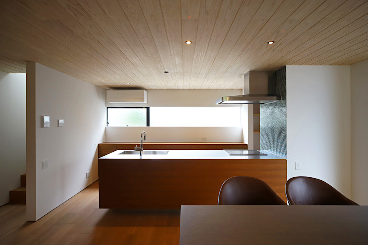 Modern Kitchen by kisetsu Modern Wood Wood effect