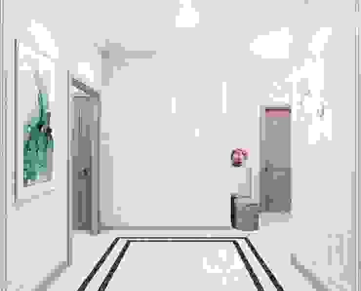 Дизайн студия 'Хороший интерьер' 經典風格的走廊,走廊和樓梯