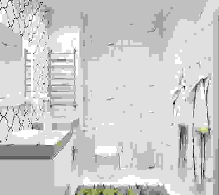 Casas de banho  por Дизайн студия 'Хороший интерьер', Clássico