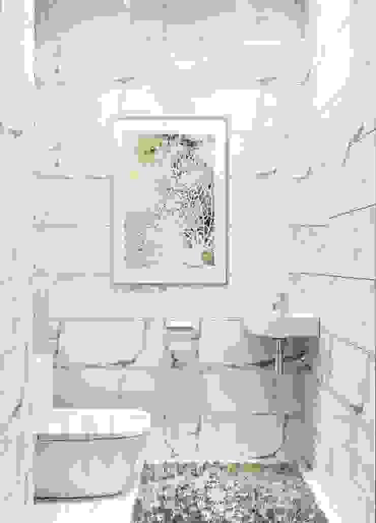 Дизайн студия 'Хороший интерьер' 浴室