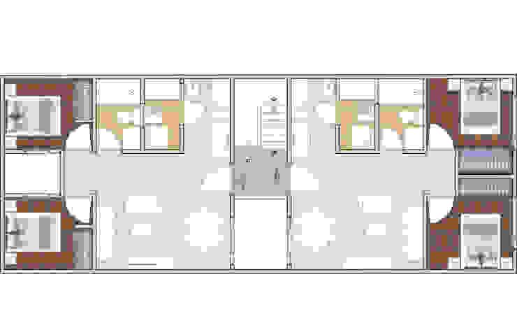 Casas pequeñas de estilo  por AAVE Diseño y Construcción, Clásico