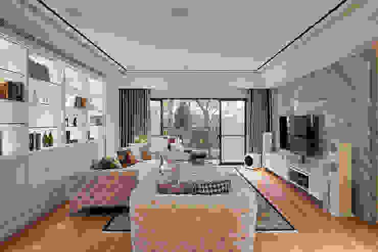 趙玲室內設計│客廳01 根據 趙玲室內設計 古典風
