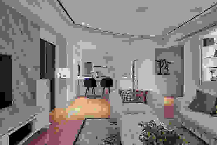 趙玲室內設計│客廳02 根據 趙玲室內設計 古典風