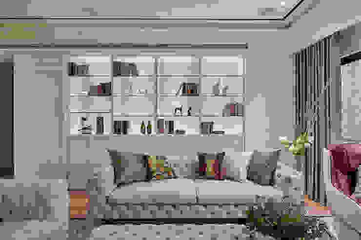 趙玲室內設計│客廳03 根據 趙玲室內設計 古典風