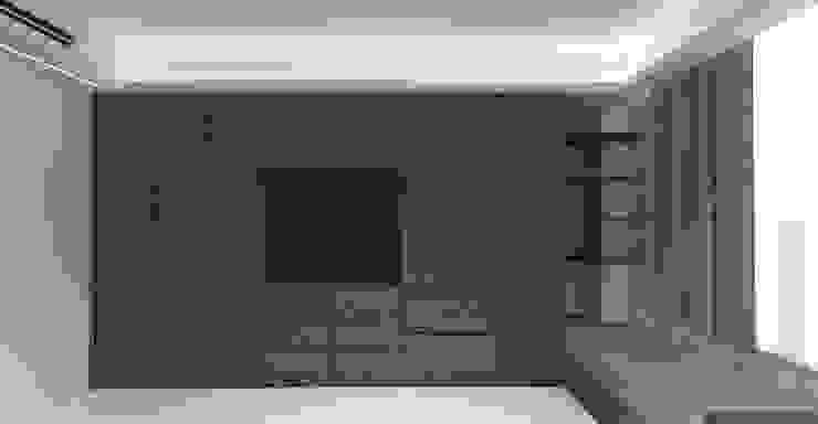 3D設計圖-3F主臥(2): 現代  by 圓方空間設計, 現代風