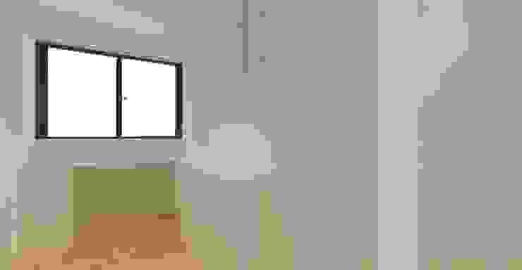 3D設計圖-2F房間: 現代  by 圓方空間設計, 現代風