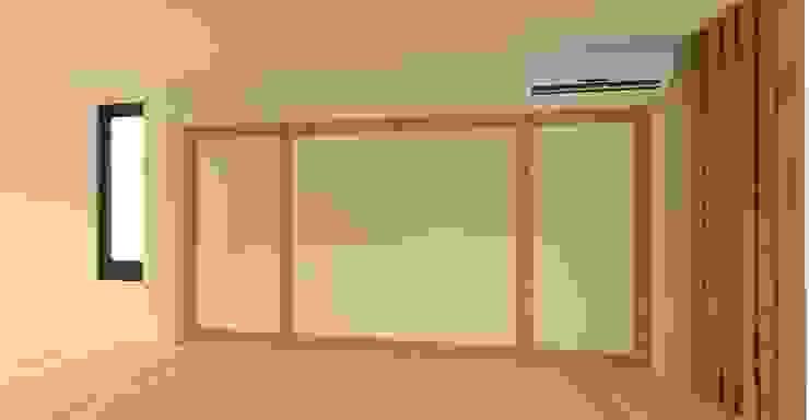 3D設計圖-2F房間(2): 現代  by 圓方空間設計, 現代風