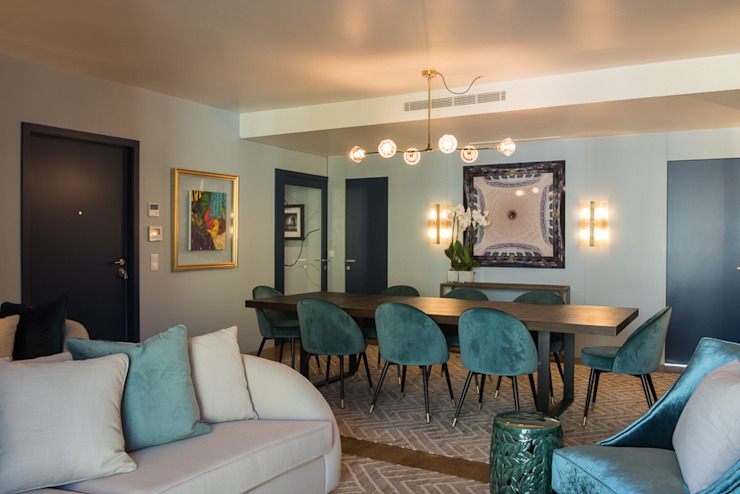 Sala de Jantar Inêz Fino Interiors, LDA Salas de jantar modernas