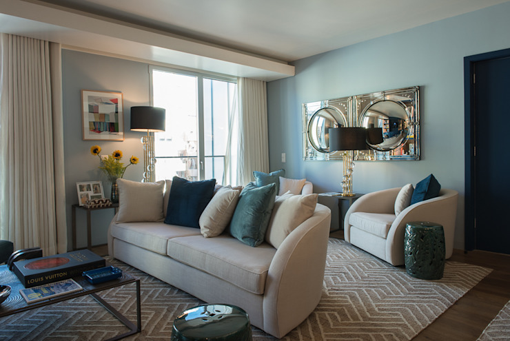 Sala: Salas de estar  por Inêz Fino Interiors, LDA,Moderno