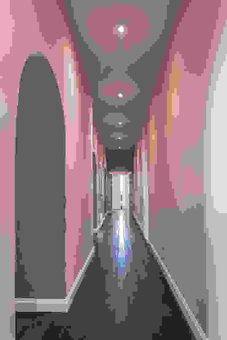 MODO Architettura Modern Corridor, Hallway and Staircase