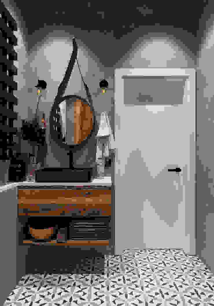Salle de bain originale par Aya Asaulyuk Design Éclectique