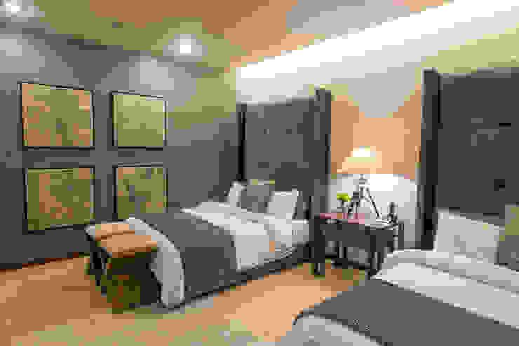 GZ INTERIORISMO Small bedroom Grey