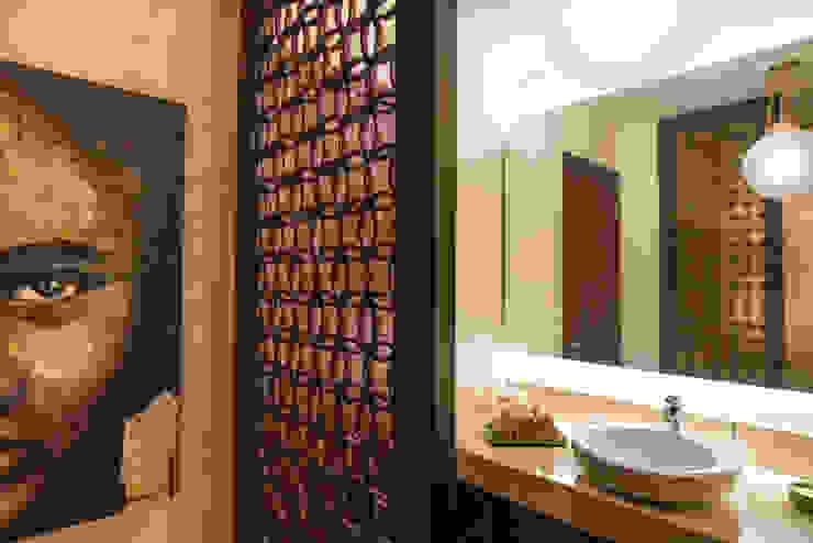 Departamento 21: Baños de estilo  por GZ INTERIORISMO, Moderno