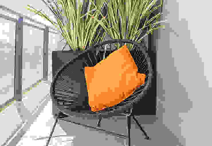 Ristrutturazione appartamento in Torre Dacia Made with home Balcone