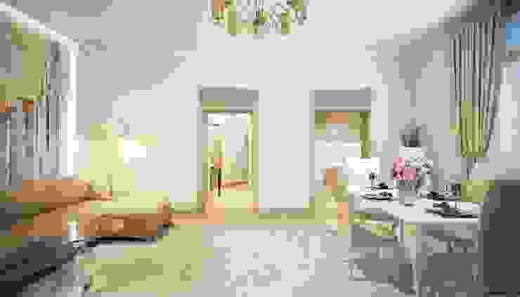 Дизайн студия 'Хороший интерьер' Salas de estilo clásico