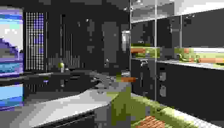 大型的泡湯池可以享受泡湯樂趣 根據 鼎爵室內裝修設計工程有限公司 日式風、東方風