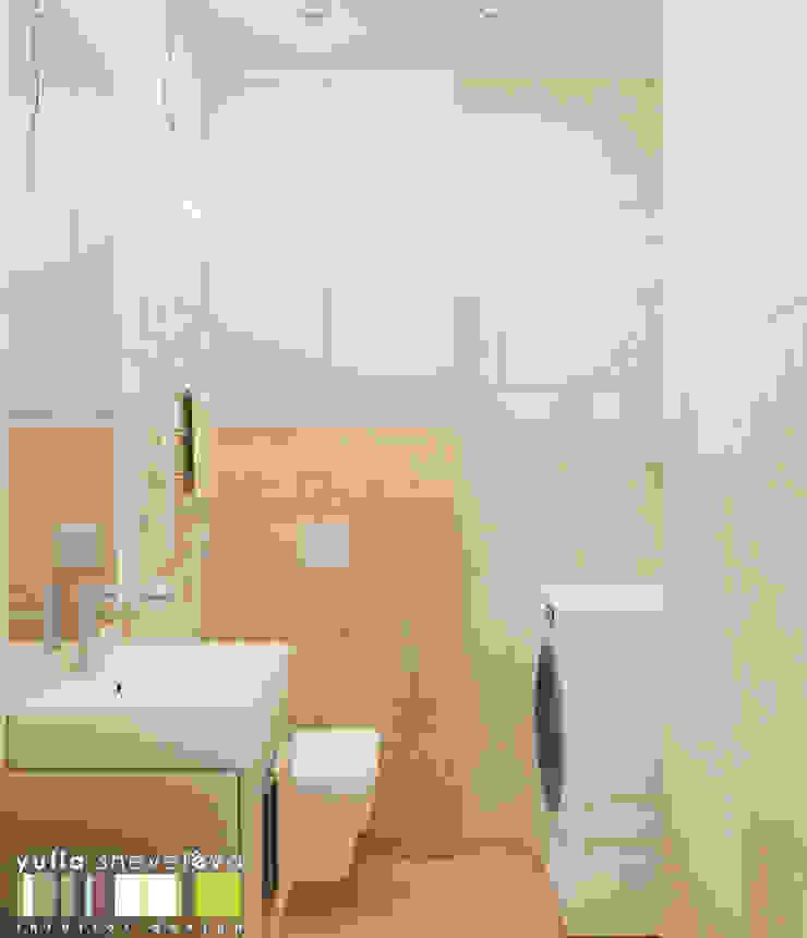 Eclectic style bathroom by Мастерская интерьера Юлии Шевелевой Eclectic