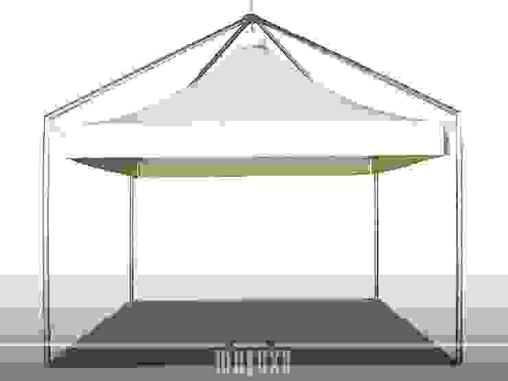 METEXA SAS JardinesMarquesinas, toldos e invernaderos Compuestos de madera y plástico Blanco