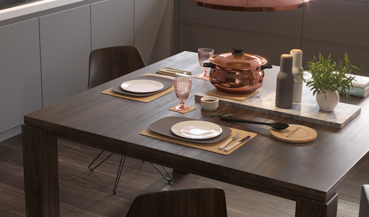 Place-mats Modern dining room by Go4cork Modern Cork
