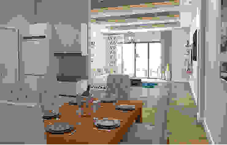 Yemek Odası Modern Yemek Odası Kalya İç Mimarlık \ Kalya Interıor Desıgn Modern Ahşap Ahşap rengi