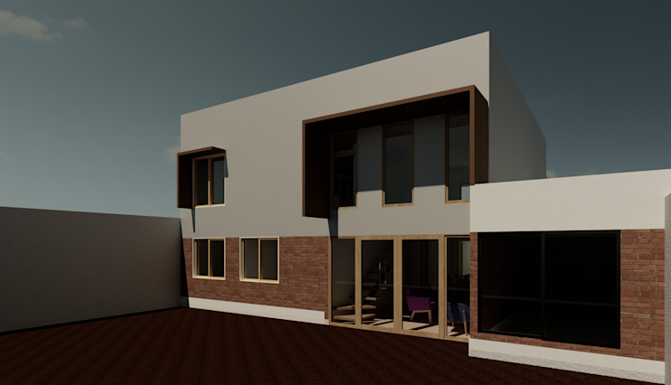 Minimalist houses by Contreras Arquitecto Minimalist