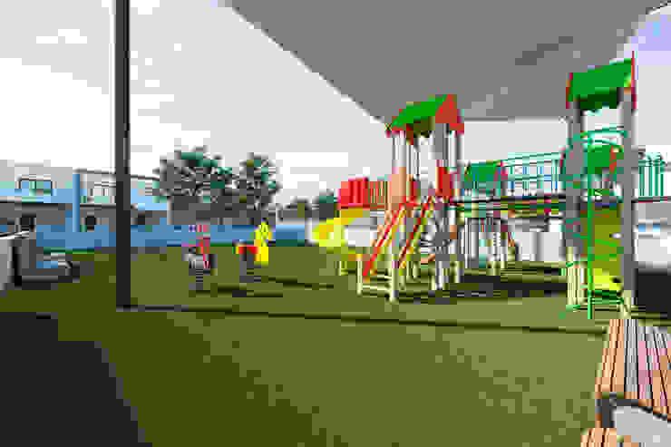 Minimalist style garden by VillaSi Construcciones Minimalist