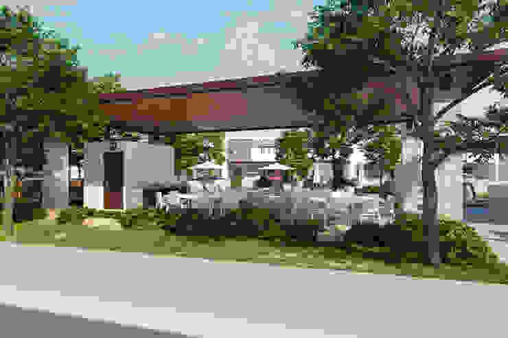 VillaSi Construcciones Balcone, Veranda & Terrazza in stile minimalista