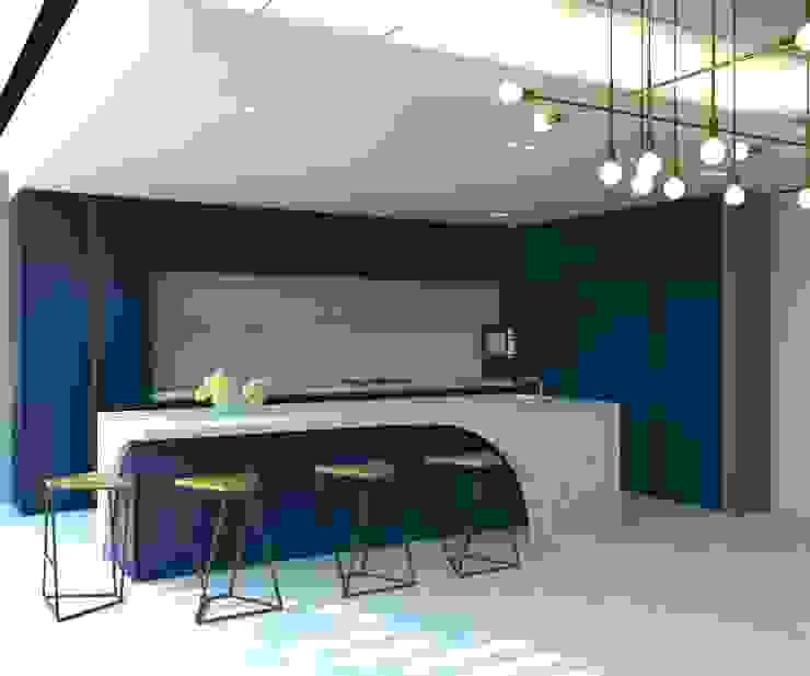KALYA İÇ MİMARLIK \ KALYA INTERIOR DESIGN – Mutfak:  tarz Ankastre mutfaklar, Modern Ahşap Ahşap rengi