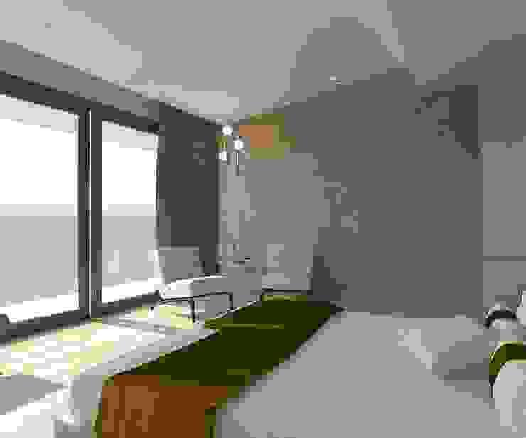 Yatak Odası - Oturma Kalya İç Mimarlık \ Kalya Interıor Desıgn Modern Seramik
