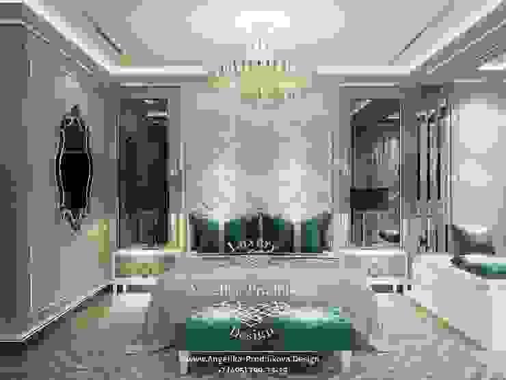 Moderne slaapkamers van Дизайн-студия элитных интерьеров Анжелики Прудниковой Modern