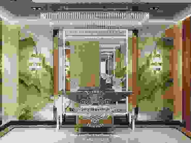 Modern Corridor, Hallway and Staircase by Дизайн-студия элитных интерьеров Анжелики Прудниковой Modern
