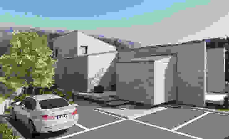 통삼리 단독주택 by 삼공사건축사사무소 모던