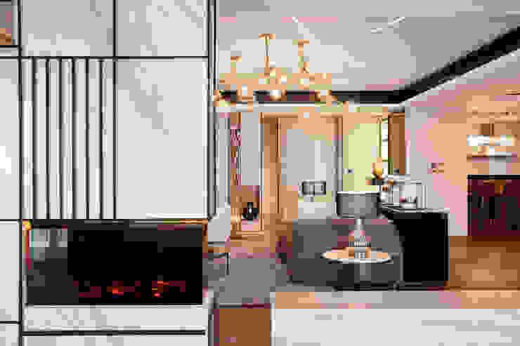 耘非凡 現代風玄關、走廊與階梯 根據 瑞嗎空間設計 現代風