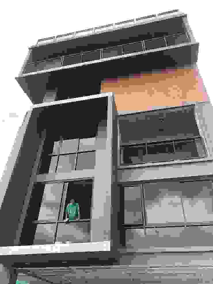 HOME OFFICE โดย Glam interior- architect co.,ltd โมเดิร์น กระจกและแก้ว