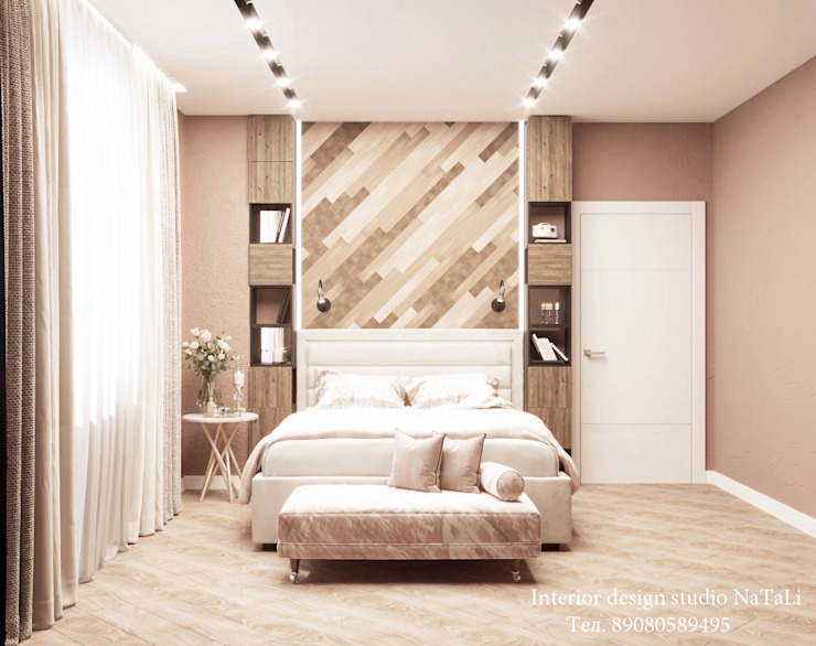 Modern style bedroom by Студия дизайна Натали Modern