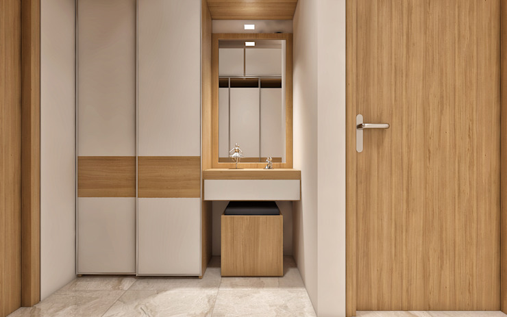 Classic style dressing room by ANP Interiors Pvt Ltd Classic