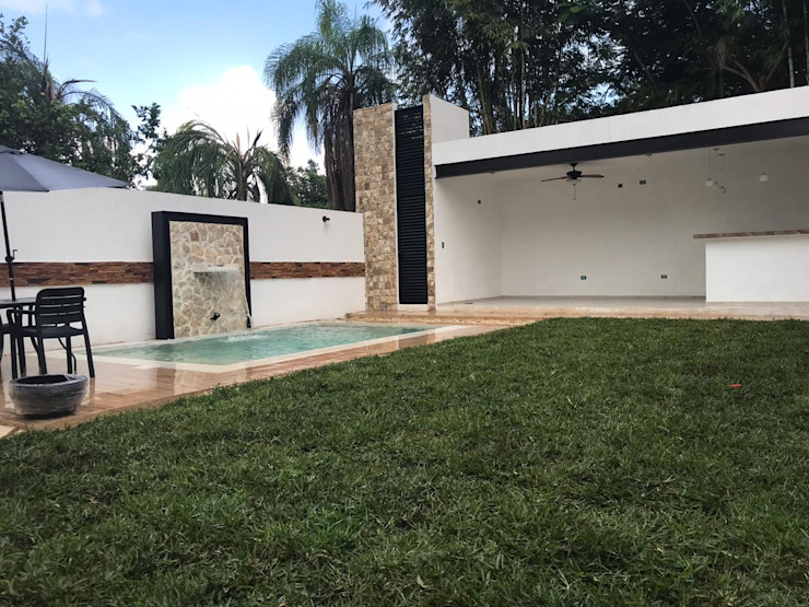Jardin Jardines clásicos de Prissma construccion Clásico
